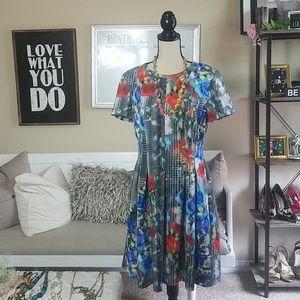 Catherine Malandrino Multi Color Dress (12)